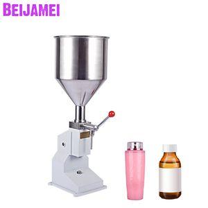 Beijamei 0 ~ 50g Manuel Gıda Dolum Makinesi Gıda Günlük Kimyasal Için Küçük Kantitatif Sıvı Macun Dolgu Makineleri