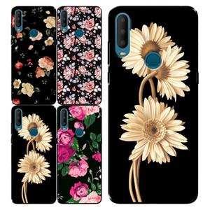 Ретро цветок телефон дело ТП мягкого чехол для Alcatel 3X 1X 2019 1S 2020 Funda, горячие продавать