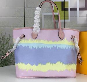 Con cartera de la mujer bolso de Victoria Flor Preferida OnTheGo GM embrague de mano MM ESCALE SPEEDY Crossbody de cuero auténtico hombro de las compras bolsa