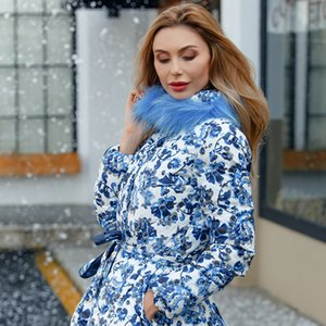 En stock Winter Warm Women Down Abrigo Nueva Colección Fashionable
