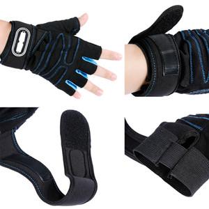 Guantes de gimnasia deportivos pesados guantes de levantamiento de pesas entrenamiento físico guantes de gimnasia deportiva adecuados para montar envío gratis