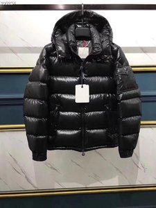 Erkekler Kadınlar Klasik marka Casual Aşağı Ceket Parlak mat Aşağı Palto Erkek Açık Kürk Yaka Sıcak Tüy elbise Unisex Kış sıcak Coat dış giyim