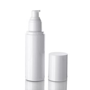 500PCS 50ML 흰색 펌프 로션 / 로션 BB 크림 액체으로 나눔에 흰색 모자 빈 펌프 병 스프레이 병