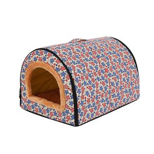 Quatro estações Dog Pet sofá-cama O aquecimento Dog House macio ninho Kennel para Puppy Cat Plus Size acessórios Pequenas e Médias