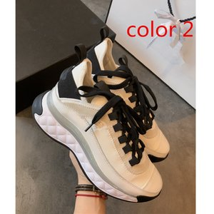 with box Top grade 2020 white black designer sneakers genuine leather luxury women designer shoes casual shoes