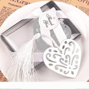 B Metal Bulk My Heart Bookmark First Communion Birthday Baby Shower Wedding Favors and Gifts For Guest wen4474