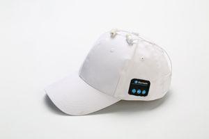 homens venda quente Mulheres Bluetooth Headphone Cap sem fio Sports fone de ouvido Hat Bluetooth V4.1 Música Hat Cap Speaker Fones chapéus de basebol