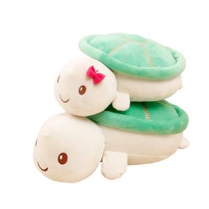 20cm 새로운 귀여운 kawaii 거북이 봉제 장난감 인형 동물 아기 아이 인형 베개 장난감 LA122