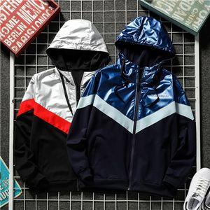 2020 Brasão Mens Outono Nova Primavera Womens Designerjackets Windbreaker Zipper Casual Brandjackets Casacos ativa que funciona Jacket 20030405D