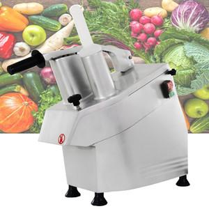 300 kg / H Machine de découpe de légumes multi-fonction pour les pommes de terre radis fruits légumes durs trancheuse de fromage râpé découpe coupe-légumes
