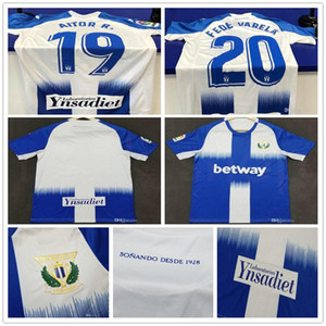 19 20 Home Blue Leganes soccer jersey Customized J. SIA EN-NESYRI SANTOS EL ZHAR JUANFRAN AITOR R. OJEDA ROLAN AITOR R. football shirt