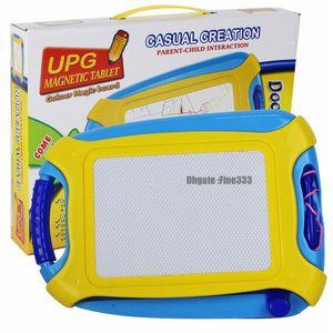 Coloré magnétique planche à dessin magique jouet créatif et croquis effaçable pad écriture enfants bambin garçon fille peinture apprentissage cadeau d'anniversaire