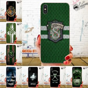 Tarjetero iphone Slytherin School For Xiaomi Redmi Note 2 3s 4 4A 4X 5A 6a Pro Plus Ultra Thin Carto Pattern Phone Case