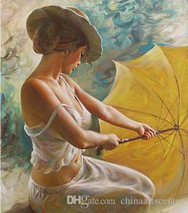 vA. Alta qualidade pintado à mão HD impressão impressionista Figura Retrato Pintura a Óleo Art On p71 Canvas Wall Art Home Office Deco