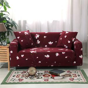 Copridivano elastico Tracolle elastiche componibili per soggiorno Divano letto L Shape Armchair Single / Two / Three / Four Seat