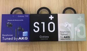 fone de ouvido 3,5 milímetros DHL para Samsung S10 S10E S10P Para fone de ouvido iphone fone de ouvido fone de ouvido preto e branco EO-IG955 com caixa de varejo