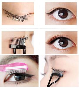 Make Up Mascara Guida sopracciglia pettine del ciglio del bigodino Ciglio della spazzola di estensione del ciglio Strumento attrezzo di trucco