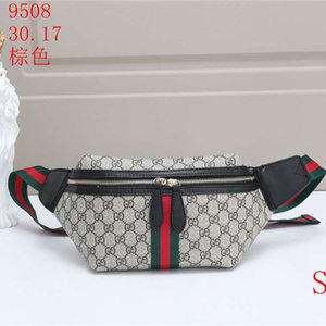 Moda Clássica 2 cores Unisex Corpo Cruz Womens Marca cintura Saco dos homens ombro Luxo Bag Fannypack Bumbag Peito Bag Outdoor LJC B105181Z