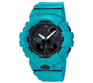 Dijital Men'Watches GBA-800 Tam Otomatik Takvim 200m su Dayanıklı Spor 48mm kadran erkek saatler
