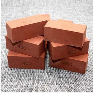 1 pièce aiguiseur de couteaux de cuisine 400 grains corindon pierre à aiguiser pierre à aiguiser pierres outil de meulage meule pierre fixe