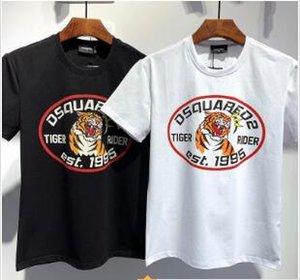 2020 Nouvelle été bonne livraison gratuite d'arrivée Marques Designers Vêtements pour hommes T-shirts D2 impression d'icône T-shirts Taille hommes femmes T-shirts d548