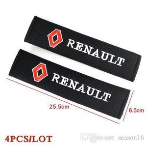 Автомобиль Styling Ремень безопасности Обложка Pad, пригодный для Renault Duster Megane 2 логан Renault Clio 2110 Car-стиль