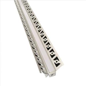 Profilé en aluminium en forme de V profilé en aluminium et profilé en aluminium de 120 degrés pour profilé en angle et profilé de paroi en angle intérieur pour rec