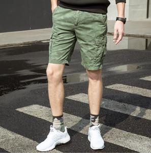 Estate Designer camuffamento dei pantaloni di bicchierini con Cerniera Relaxed allentata Midweight Homme Abbigliamento casual maschile Abbigliamento Uomo