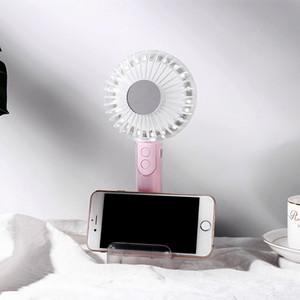 Çocuklar Yaz Oyuncak Soğuk barbekü Fan USB alet Havalandırma katlanabilir Mini Küçük Fan pikap Klima Soğutma masaüstü fanı Soğutma