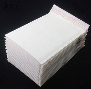 190mmx130mm / 190mmx110mm / 170mmx130mm / 170mmx110mm / 150mmx110mm distruttive aperto autosigillante PE Poly Bubble Busta Mailer sacchi bianchi