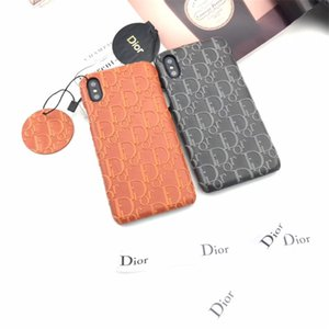 One Piece Luxury phone case For iPhone 6S 7 8 P X XS fashion upscale imprint Designer phone case back cover gifts