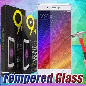 Pantalla 9H vidrio templado protector de la película protectora para Xiaomi MI 9 8 6 SE Plus 6X 9T 9X CC9 CC9E Max 3 Pro F1 Juega Con paquete al por menor