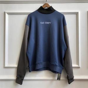 suéter de cuello alto CAV Empt C.E CE sudaderas con capucha Hombres Mujeres Streetwear la camiseta blanca CAVEMPT C.E sudaderas