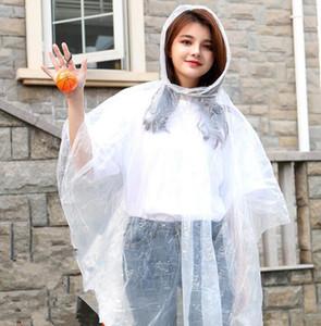 Jetables en plastique Raincoat boule porte-clé Imperméables Mini Basket-ball Football pluie Couvre Voyage tour Rain Coat de voyage PE Rainwear DHB12