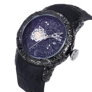 2019 Nouveau style Haute qualité suisse INVICTA cadran rotatif sports de plein air montre pour homme Montre à quartz en silicone