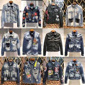 2020 Designer Herren Denim-Jacken Herren-Luxus Outwears Qualitäts-Mann-beiläufige Jeans-Jacke Mäntel Street Chaqueta Hombre Größe M-3XL