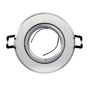 Suporte de montagem em alumínio fundido MR16 GU10 GU10 GU5.3 Suporte de montagem para holofotes de teto Embutida Luminária embutida
