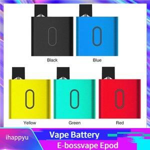 E d'origine Bossvape Epod Vape Kit batterie 500mAh Boîte Mod Portable System Pod Avec cartouche E-0,5ml bossvape 100% Compatible authentique