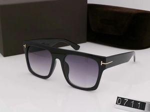 Designer Sonnenbrille für Männer Sonnenbrillen für Frauen Männer Sonnenbrille Frauen Herren Designer Gläser 0711 Sonnenbrille Oculos de Uv400 Objektiv