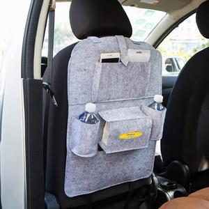 Auto siège arrière de voiture multi poche sac de rangement Organisateur Porte-accessoires Hanger Voyage multi-poches Backseat Sacs Organisateur feutre DBC BH2909