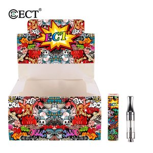 100% Original ECT kenjoy B1 ceramic coil vape cartridges 510 thread cartridge for thick oil fit for 510 thread battery