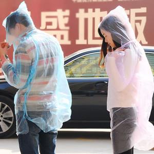 Alta calidad gruesa individual Senderismo desechable ropa impermeable Traje Hijos Adultos uso del impermeable unisex no tóxico de seguridad al aire libre del poncho BH0054 TQQ