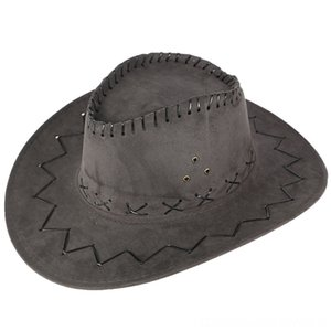 2019 New Womens Mens Unisex Hat Wild West Fancy Cowgirl Cowboy Hats Casual Solid Hats & Caps Hats, Scarves & Gloves Fashion Western Headwear