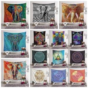 26 Styles Bohemian Mandala Tapestry Beach Towel Shawl Printed Yoga Mats Polyester Bath Towel Home Decoration Outdoor Pads