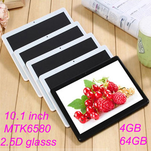 """High quality 10 inch MTK6580 2.5D glasss IPS capacitive touch screen dual sim 3G GPS tablet pc 10"""" android 7.0 Octa Core 4GB 64G"""