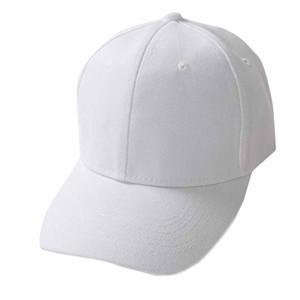 남여 Fahsion 야구 모자 남성 여성 모자 조절 블랙 핑크 화이트 캡 야외 야구 #ES 등반 엉덩이는 홉