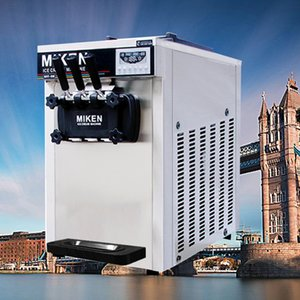 Kommerzielle Softeis-Maschine mit Mix 3 Flavors / Professional Hersteller von kommerziellem Energiespar Desktop-Eiscreme-Maschine zum Verkauf