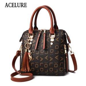 Fashion Lady Handbag Bolsa de Ombro Luxury Handbag Female Bag Designer Ladies Alta Qualidade mensageiro geométrica ACELURE