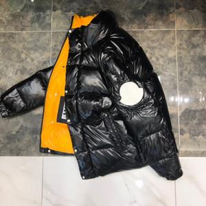 Роскошные вниз Mens Дизайн Зима Parka пальто Мужчины Женщины высокого качества Зимняя куртка мужская дизайн вниз жилет 4 цвета