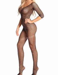 Jhleo88 Demir Sondaj Net Giyim In The Big, Net Cinsel Faiz İç Açık Mesh Vücut Net Çorap Hollowed aşımı